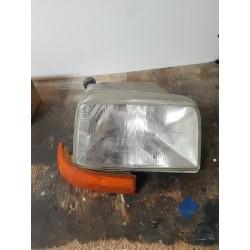 super 5  renault 5 optique de phare avant droit + clignotant  lampe  H4 VENDU COMPLET 85 A 92
