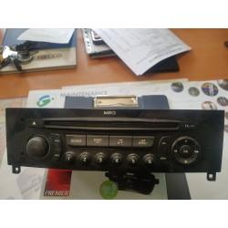 AUTORADIO CD POUR PEUGEOT 308 CC / RCZ RADIO / CD PLAYER  REFERENCE 96660458XN