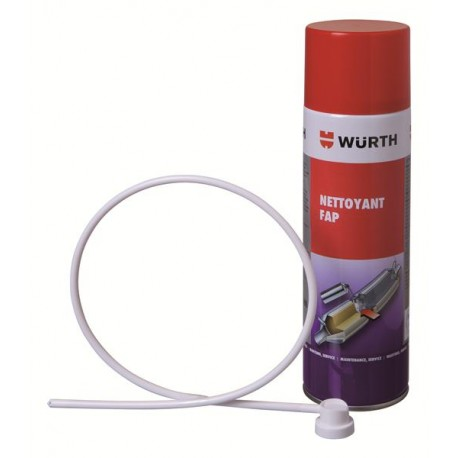 Spray wurth Nettoyant FAP Filtre a Particule pour vw ford peugeot citroen etc ...( en bombe ) Référence 5861 014 500 usage uniqu