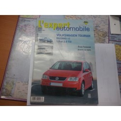 revue technique RTA  pour  vw touran 03/2003   1.9 tdi 2.0 tdi no 449