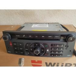 PEUGEOT 407 mp3 GSM CD Autoradio Radio Navigation 96614505yp rt3 + écran LCD 9664993480