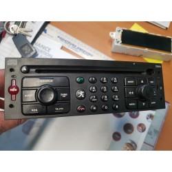 AUTORADIO origine  CD GSM SOS RT3-N1+-02 PEUGEOT CITROEN 207 307 807 C3 C4 C8 96527455XT