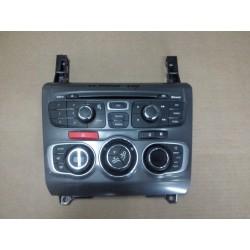 CITROEN c4 b7 (N) climat élément de commande radio panneau de contrôle panneau de contrôle Navigation et tel  ref 9666027577-
