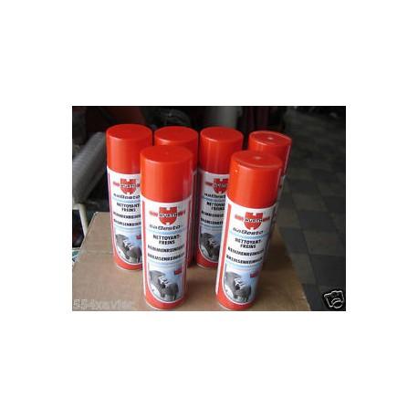 degraissant nettoyant frein 6 x 500 ml en bombe super puissant ! wurth