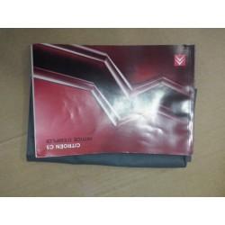 manuel d utilisation carnet de bord !c5 serie 2 depuis 2006   TBE!!