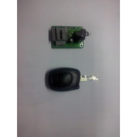1 TELECOMMANDE infrarouge  PLIP RENAULT CLIO 2 phase 1 uniquement !! de 98 a 2000  PILES NEUVES