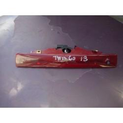3 ème feux stop arrière central twingo 2  Phase 2  de 2013  origine renault rouge -