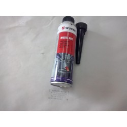 Additif nettoyant du système d'injection wurth  Diesel. Nettoie le système d'alimentation dci