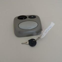 plafonnier twingo 1 eclaireur interieur  avec electronique de centralisation infrarouge et 1  plip avec lampe ref trw ms 3206
