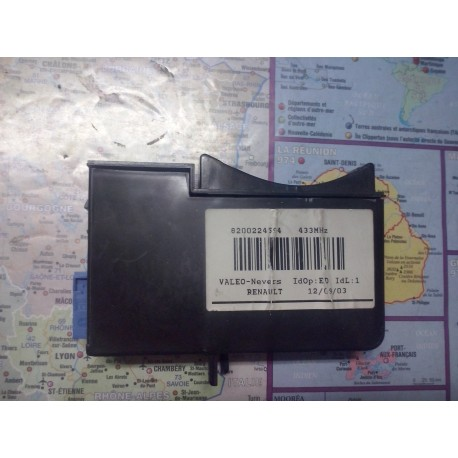 demarrage lecteur de carte laguna 2 l et espace 4  depuis fabrication en parfait etat  sans main libre  8200224594 ref