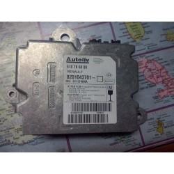 calculateur d air bag clio 3 autoliv ref 8201043701   610796000 neuf !