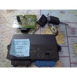 safrane boitier decodeur + 2 plips + recepteur ref 7700843415c + identification