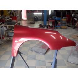 aile avant droite peugeot 206 de 98 a 06  couleur rouge lucifer