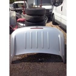 coffre malle arriere 206 cabriolet c couleur grise metal complete !