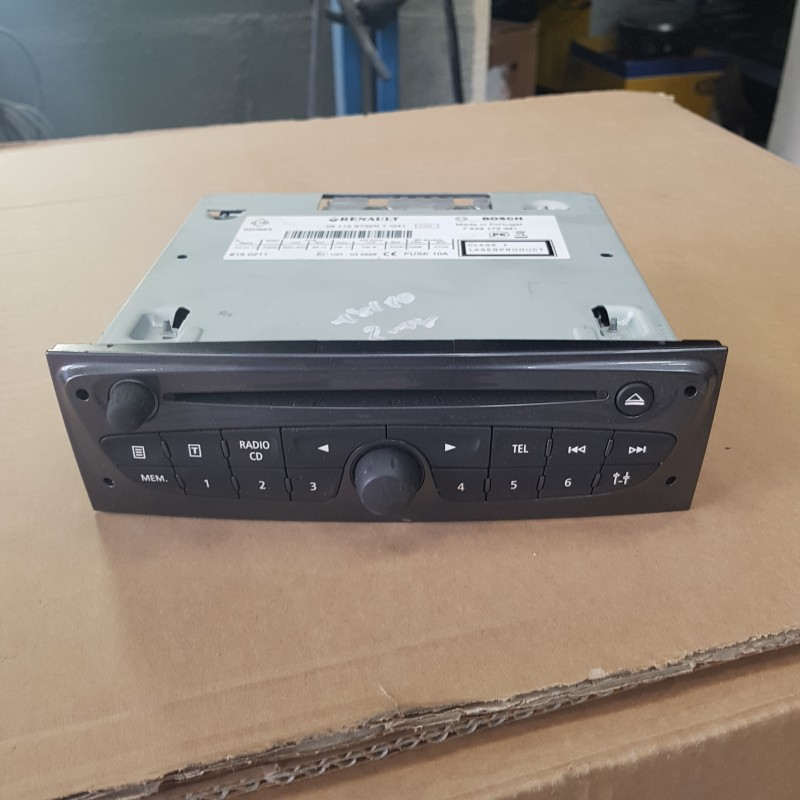 Clio 3 Renault Clio Mk3 Megane Radio Stereo Cd Player