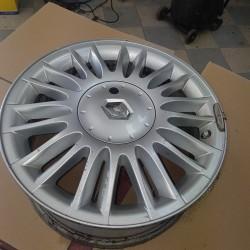 "Renault MEGANE Scenic II Alloy Wheel 16"" 4x100 Curacao reference d origine  8200412197 parfait etat !!"