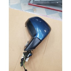 CITROEN  C4  GRAND PICASSO de 2010  retroviseur electrique  DROIT option rabat electrique ref 8153VP  BLEU METAL TRES BON ETAT